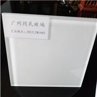 磁性玻璃 磁性白板玻璃 白色烤油漆玻璃