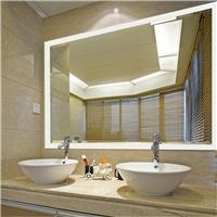 浴室镜时间温度触摸开关led卫生间镜子