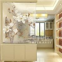建筑装饰行业专用 高温彩釉玻璃 高温玻璃喷绘技术