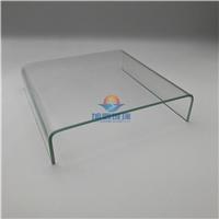 7MM热弯超白玻璃 U型钢化玻璃 U型幕墙玻璃