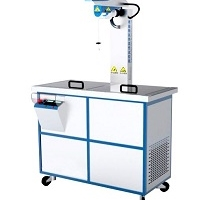 HSR-02中性硼硅玻璃输液瓶耐热冲击试验仪