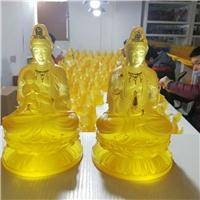 广州琉璃佛像工厂 广州琉璃工艺品厂家 琉璃佛教用品