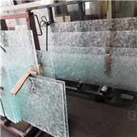 上海 热熔玻璃水纹玻璃 加工