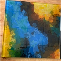 数码彩釉打印玻璃供应