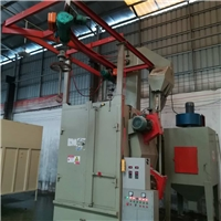广州吊钩式抛丸机厂家铸造件处理喷砂机
