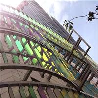 炫彩玻璃 幻彩玻璃 变色炫彩玻璃 外墙炫彩玻璃