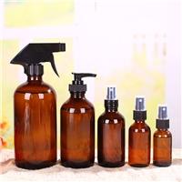 玻璃瓶波丝顿茶色玻璃遮光瓶喷雾药水瓶乳液瓶化妆瓶瓶