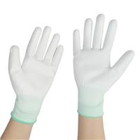 耐磨PU涂掌手套加厚防滑点塑胶手套防护涂掌手套