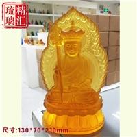 古法琉璃地藏王菩萨 寺庙琉璃佛像万佛墙 广州琉璃