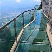 广州卓越多层夹胶钢化防滑玻璃