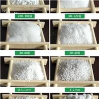 项城喷砂除锈石英砂厂家品质一级/检验合格