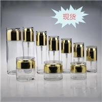 化妆品玻璃瓶生产厂家  化妆品膏霜瓶生产厂家