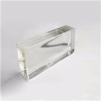 透明彩色实心玻璃砖