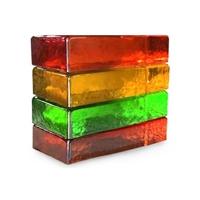 广州彩色透明实心玻璃砖