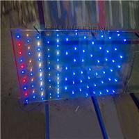 广州玻璃镶嵌LED灯珠发光玻璃
