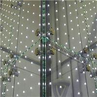 玻璃镶嵌LED灯珠发光玻璃