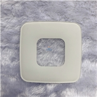 丝印玻璃 3mm高温白色陶瓷丝印钢化玻璃