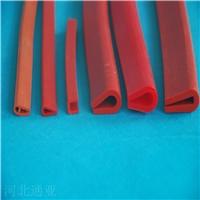 硅胶U型红色机械设备包边密封条