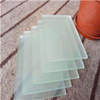 单面磨砂玻璃 喷砂玻璃 钢化磨砂玻璃