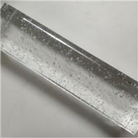 建筑用精磨水晶气泡玻璃砖价格厂家直销