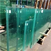 19mm三层夹胶钢化玻璃供应