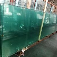 15mm超白钢化玻璃大板面供应