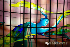 广州彩绘玻璃工厂店