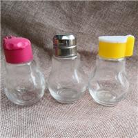 徐州出口玻璃瓶厂家供应高白料玻璃胡椒粉瓶