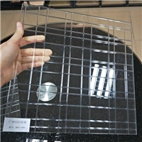 车刻玻璃 电雕玻璃 工艺车刻格子玻璃