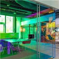 钢化炫彩玻璃 幻彩玻璃6厘单片