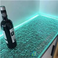 吧台艺术装饰热熔玻璃50mm厚
