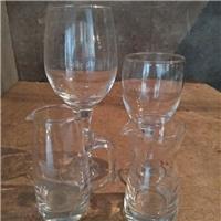 玻璃制品烟缸,高脚红洒杯,分酒器,水杯