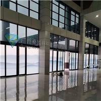 广州卓越特玻水墨山水智能雾化变色玻璃