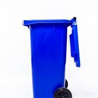 垃圾桶-工廠垃圾桶-100L帶輪塑料垃圾桶