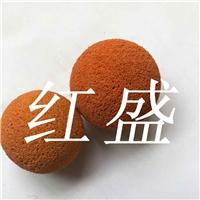 水泥化工换热器胶球清洗,红盛厂家热卖中