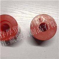 红色底托轮单边槽52.5x60.5x17