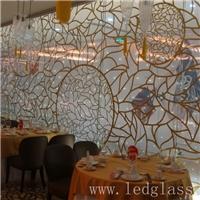 LED幕墙玻璃  发光玻璃屏