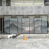 酒店装饰夹山水画玻璃 夹山水画玻璃 售楼部山水画玻璃