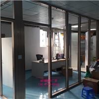 东莞办公室双层玻璃带百叶隔断厂家价格