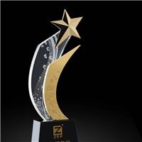 舞蹈奖杯 芭蕾范儿毅力之星奖杯 五角星水晶奖杯