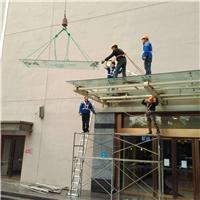 天津幕墙改换玻璃若干钱一个平方?