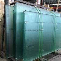 广州同平易近供给八字形防滑玻璃 圆点防滑玻璃供给