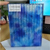 广州背景墙玻璃 背景墙艺术夹丝玻璃 平面凹凸艺术玻璃