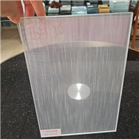 广州玻璃隔断夹丝玻璃 屏风隔断夹丝玻璃 展柜夹丝玻璃