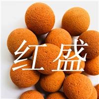红盛HS厂家生产冷凝器自动清洗装置专用胶球
