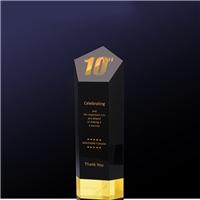 年度销售贡献奖杯、银行业绩突出水晶奖杯、深圳水晶厂家