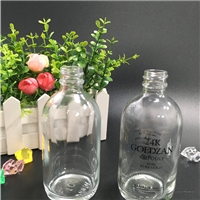 24K金箔精华液瓶子面部精华原液瓶100ML精油瓶滴管瓶