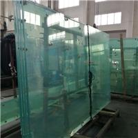 超大年夜板钢化夹胶玻璃价格19mm
