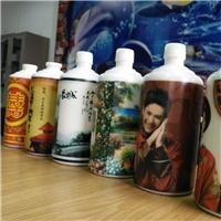 玻璃酒瓶打印机 可以在酒瓶上打印图案的机械