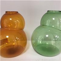 热销新款创意玻璃 葫芦外型透明水培玻璃瓶 厂家批发